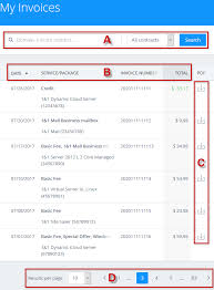 images of invoices view your account invoices 1 1 help center