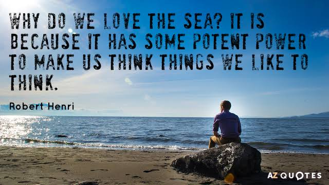 quotes about sea and love