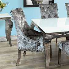 previous next stealing the limelight fadenza dining table and 6 louis chairs with chrome leg