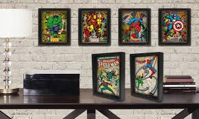 marvel comic wall art