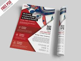 Free Flier Template Business And Corporate Flyer Template Free Psd Psdfreebies Com