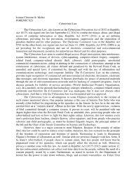 cybercrime law paper computer crime