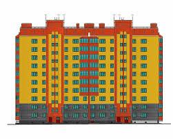 страница Многоэтажные жилые дома ВКонтакте Проект №2 32 10 ти этажный жилой дом в г Новосибирск Стоимость проекта 3000 рублей Состав проекта 11 листов autocad А1 пояснительная записка