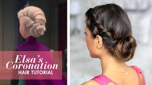 Luxy Hair Style frozen elsas coronation updo hairstyle youtube 5870 by wearticles.com