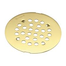 tub and shower drain cover for 3 in opening in brushed nickel 101663bn the home depot