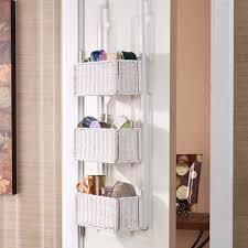 door baskets organizer pantry closet hanging storage modern