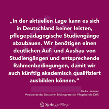 Springer Pflege - In die Diskussion um das Aus für die ...