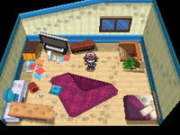 Nuvema Town. The Playeru0027s Bedroom In Pokémon ...