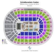 Schottenstein Arena Seating Chart Schottenstein Center Tickets And Schottenstein Center
