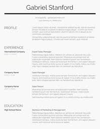 Resume Templates Simple 28 Free Resume Templates For Word [Downloadable] Freesumes