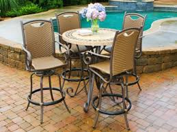 amazing of high top patio table set high top patio furniture enter with fancy high top