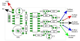 pcblayout gif rgb led controller diagram diagram led driver diagram