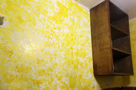 How To Create A Sponge Pattern On Wall Imanada Rag Paint Steps With  Pictures Wikihow Apartment