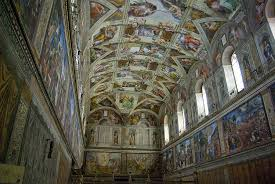 michelangelo s painting of the sistine chapel ceiling