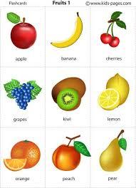 Food Flash Cards Best Spanish Language Course Baby Tutorial Pinterest English