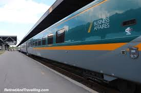 Via Rail Business Class Retired And Travelling