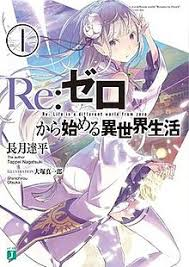 re zero starting life in another world a silver haired against a meval style city she is wearing a