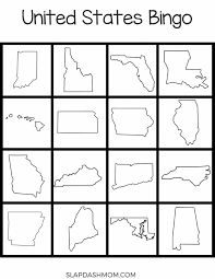 Free 50 States Lapbook Resources and Printables | Slap Dash Mom