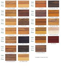 Minwax Stain Mixing Chart Zar Wood Stain Color Chart Pine Oak In 2019 Pine Stain