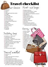This Printable Travel Checklist Will Make Packing A Breeze