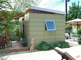 E Prefab Office Shed Modern Backyard Uk