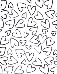 Cupidon in pages adults zen anti stress curves tunels and hearts. Lovely Heart Collection Blank Heart Coloring Pages Crafting Templates What Mommy Does