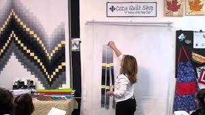 No-Measure Bargello- Strip Pattern by Cozy Quilt Designs - YouTube &  Adamdwight.com