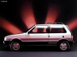 of Fiat Uno 1.6R (146) 1991–94