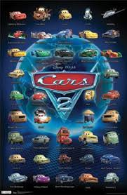 cars 2 characters names. Plain Cars DisneyPixar CARS 2 All 40 Characters Poster  Available At  Wwwsportsposterwarehouse Intended Cars Names D