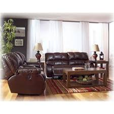 Ashley Furniture Glider Recliner Loveseat With Console