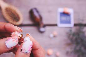アジサイネイルのおしゃれなデザイン集大人可愛い人気の花柄は