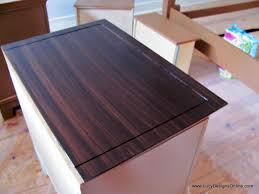 fascinating gel stain over white furniture lucy designs for how to paint stained wood concept and