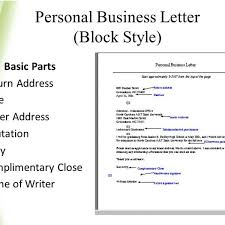 Personal Business Letter Block Style Personal Business Letter Block Style Barca Fontanacountryinn Com