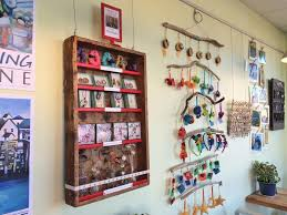 the third annual holiday gift show at rising tide features art and crafts from eleven local artisans courtesy photo