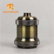 china edison e27 lamp holders vintage pendant light holder china brass lamp socket antique lamp holder