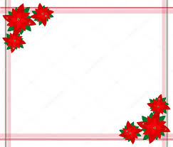 Weihnachtsstern Blüten Bilden Einen Schönen Rahmen