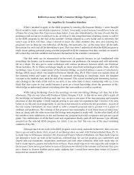 Reflective Narrative Essay Examples Best Solutions Of Personal ...
