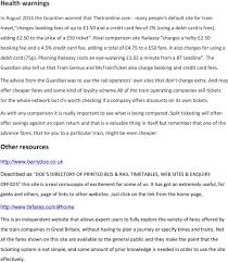 Cheaper Rail Fares A cunning plan - PDF Free Download
