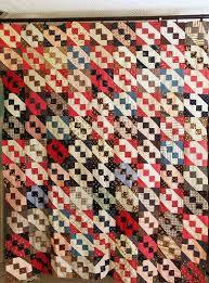 173 best JACOB`S LADDER QUILT images on Pinterest   Quilts, Colors ... & Antique Quilt Top Handmade Jacob's Ladder Beautiful Old Fabrics Browns  Indigo   eBay, i_spy_design Adamdwight.com
