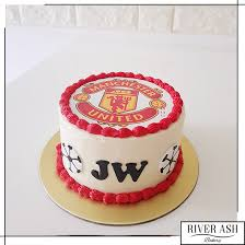 Manchester United Football Cake Sg Soccer Football Cakes Singapore