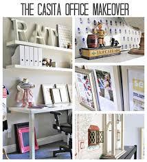 diy office decor. DIY Office Makeover Ideas Via Lilblueboo.com #decor #office #diy #homedecor Diy Decor E