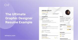 Graphic Designer Resume Sample Graphic Designer Resume Example And Guide For 2019
