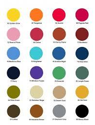 Dylon Dye Colour Chart Dylon Multi Purpose Dye Colour Chart How To Dye Fabric