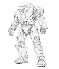 Robot ironing clothes on board. Robot 106898 Characters Printable Coloring Pages