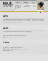 accented psd resume template ← open resume templates accented