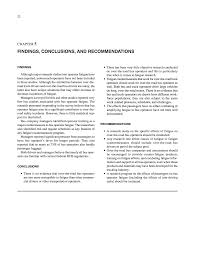 Chapter 5 Findings Conclusions And Recommendations Motorcoach