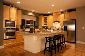 Small Picture Best Wall Color For Oak Cabinets Kelly Bernier Designs