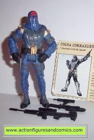 Hasbro Toys GI JOE vs COBRA action figures 2002 COBRA COMMANDER (version 11  / v