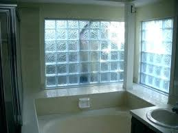 glass block window installation basement windows replacement how to install in shower g
