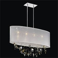 mother of pearl chandelier. Mother Of Pearl Chandelier - Oval Shade | Lifestyles 006 By GLOW Lighting H